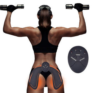 Puregemco Unisex Butt Lifting ABS Toner and Arm Muscle Stimulator