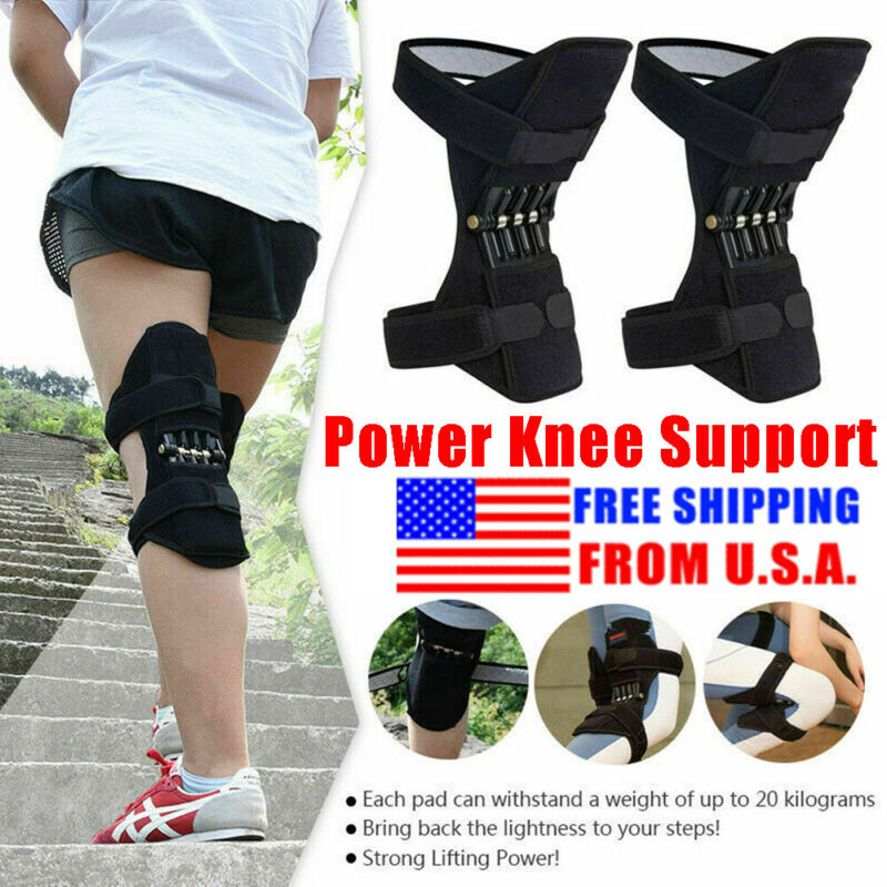 Unisex Powerlift Joint Support Knee Pads
