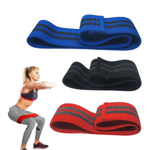Anti-Slip Hip Circle Elastic Booty Resistance Bands