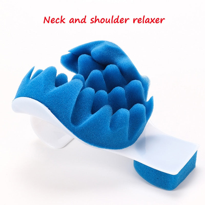 Therapeutic Travel Support Tension Neck Pillow