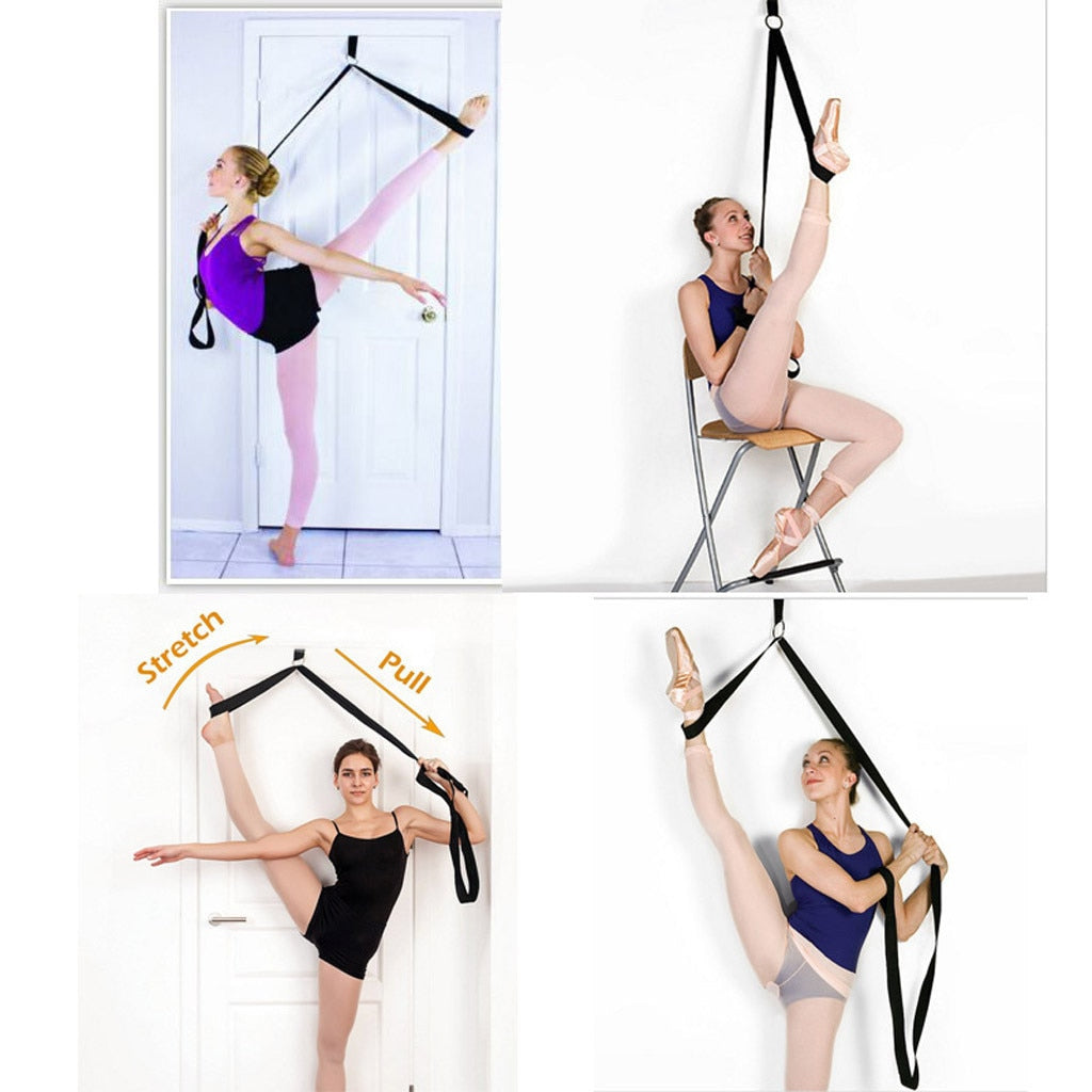 Door Flexibility Gymnastics Stretching Leg Strap