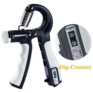 R-Shape Adjustable Countable Hand Grip