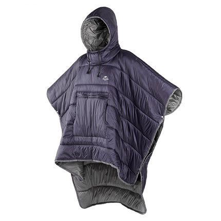 Thermal Poncho Wearable Hooded Camping Sleeping Bag