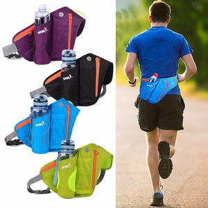 Sports Running Belt with Water Bottle Holder