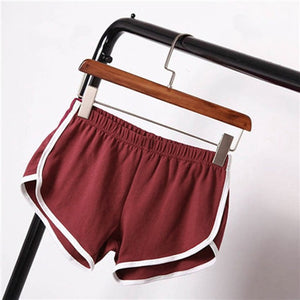 Women Casual Workout Dolphin Skinny Shorts