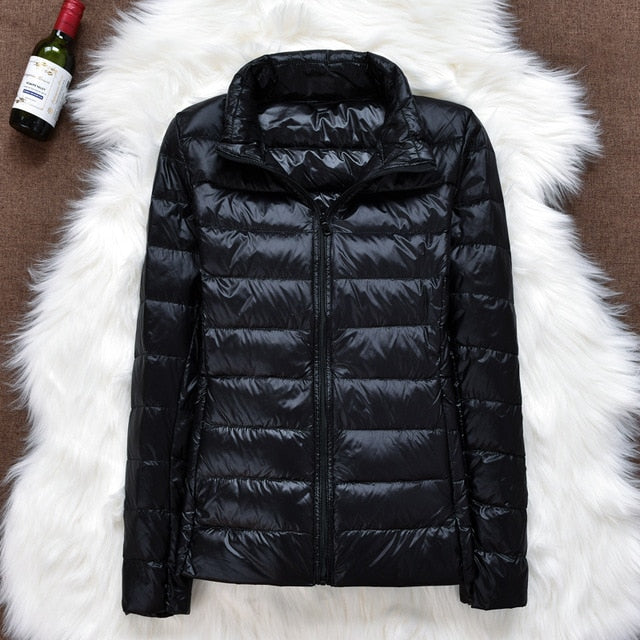 Winter Women Long Sleeve Warm Coat