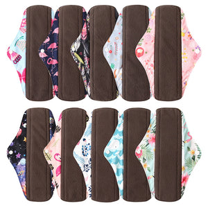 Bamboo Reusable Washable Sanitary Pads Sets