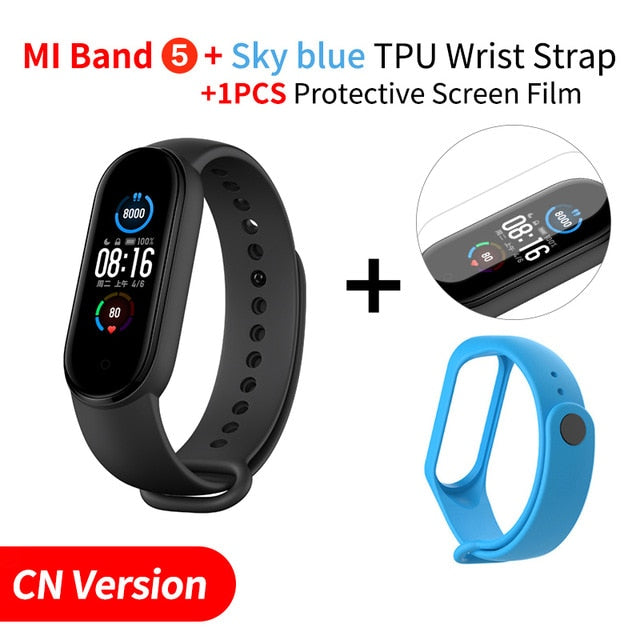 Mi Band 5 Smart Bracelet Fitness Tracker