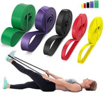 208cm Stretch Elastic Resistance Band Pilates Home Workout