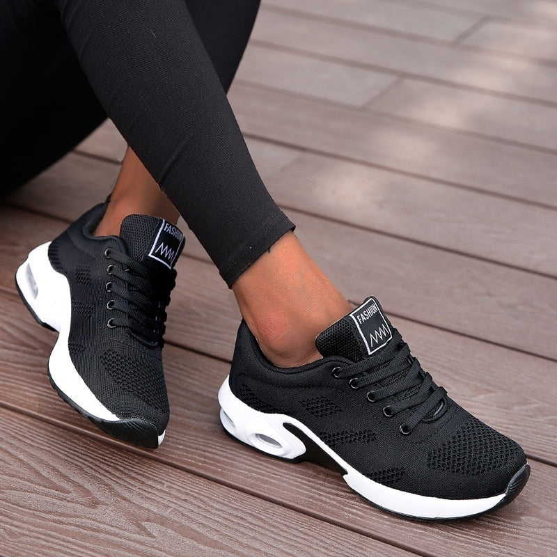 Women Fashion Lightweight Running Breathable Orthopedic Bunion Corrector Sneaker Shoes