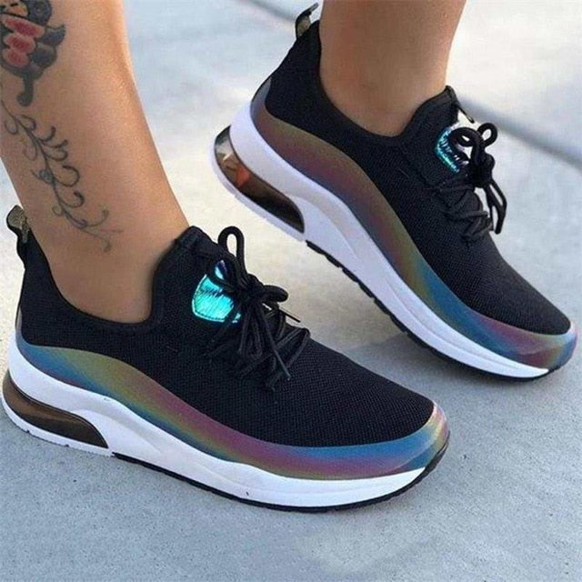 Women Mesh Air-Cushion Breathable Orthopedic Bunion Corrector Sneaker Shoes