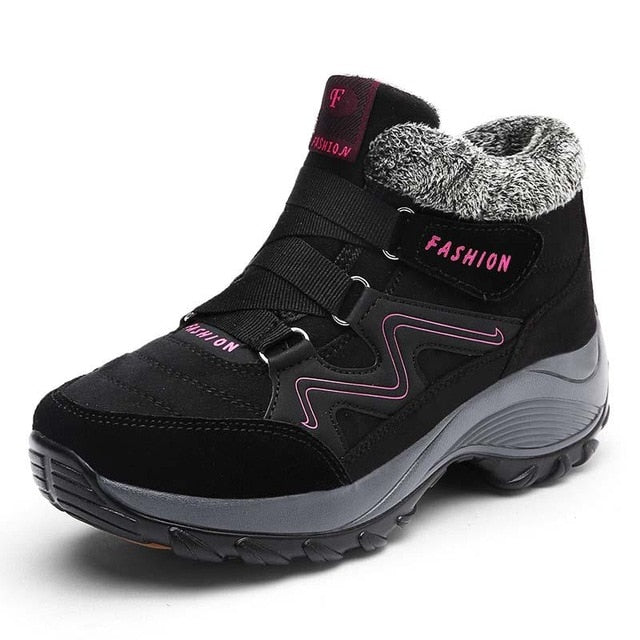 Women Warm Thick Plush Orthopedic Bunion Sneaker Boots