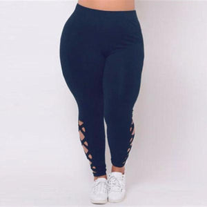 Plus Size Push Up Designer Leggings