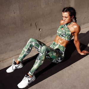 Jessica's Jungle Designer Tummy Control Push Up 2 Piece Workout Set