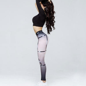 Incredible Designer Harness Print Workout Legging