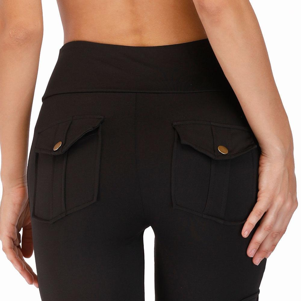 Cargo Pocket Style Push up Leggings
