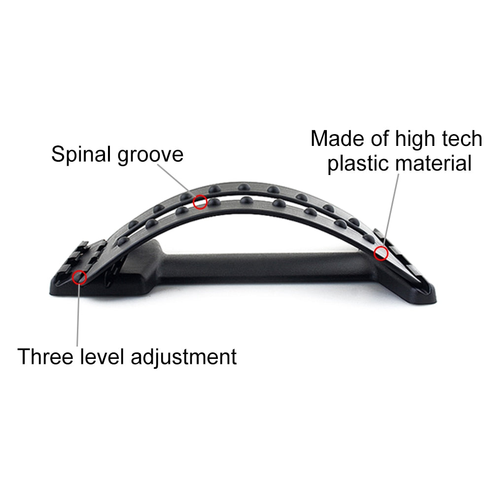Fitness Spine Pain Relief Chiropractic Back Stretcher