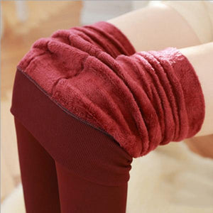 Casual Posh Velvet Leggings