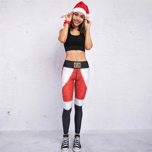 BRAND NEW 2018 COLLECTION - PureGem Holiday Festive Special 3D Print Leggings V2