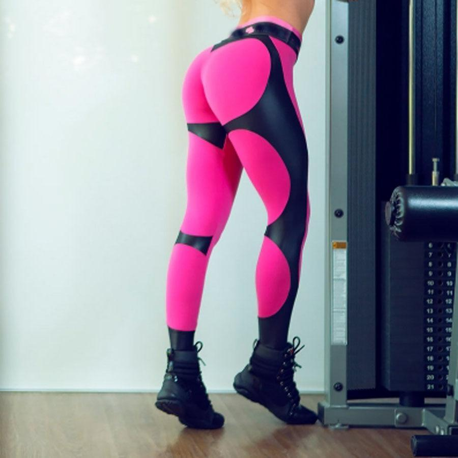 Limited Edition Heart Chic Push Up Fitness Leggings