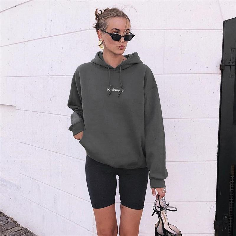 Limited Loose Fitness Sweatshirt Pullover