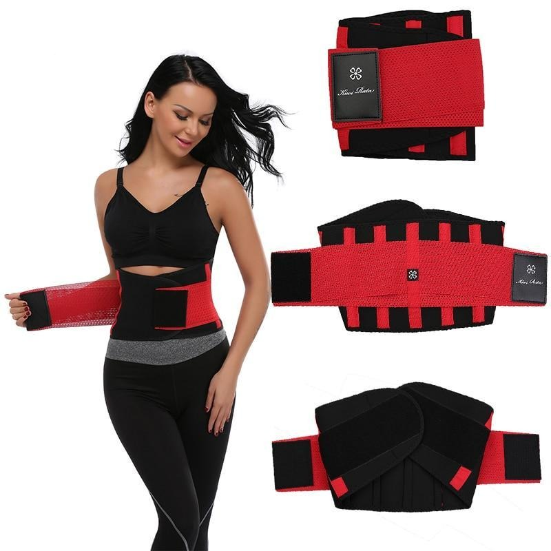 Boost Extreme Thermo Waist Hot Body Shaper Corset  Fitness Trainer Belt