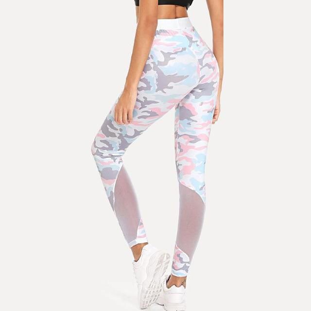 Candy Camo Workout Leggings