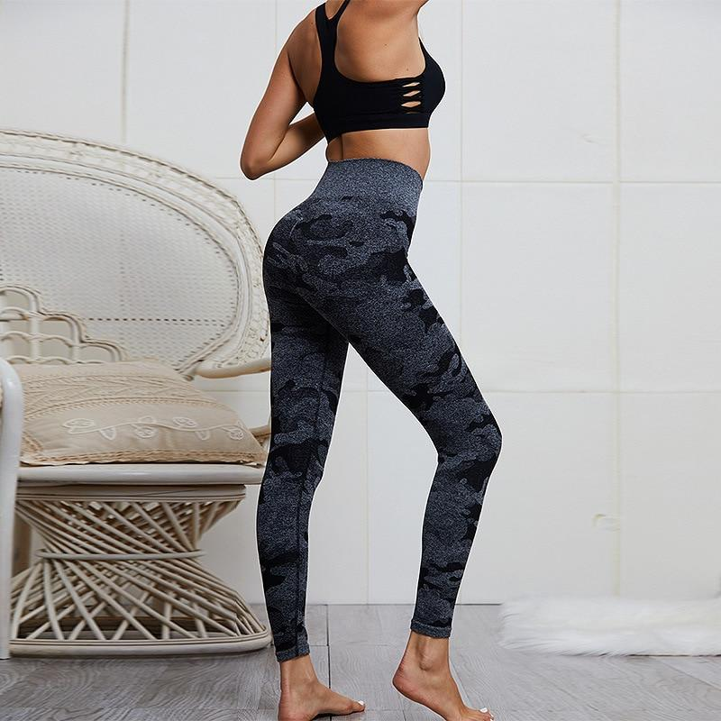 High Waist Seamless Curve Fitness Leggings