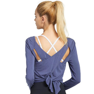 Workout Yoga Long Sleeve Shirt