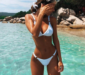 High Cut Ring Bikini Set