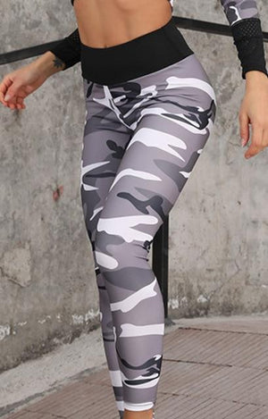 Max Fit Patterned Workout 2 Piece Set