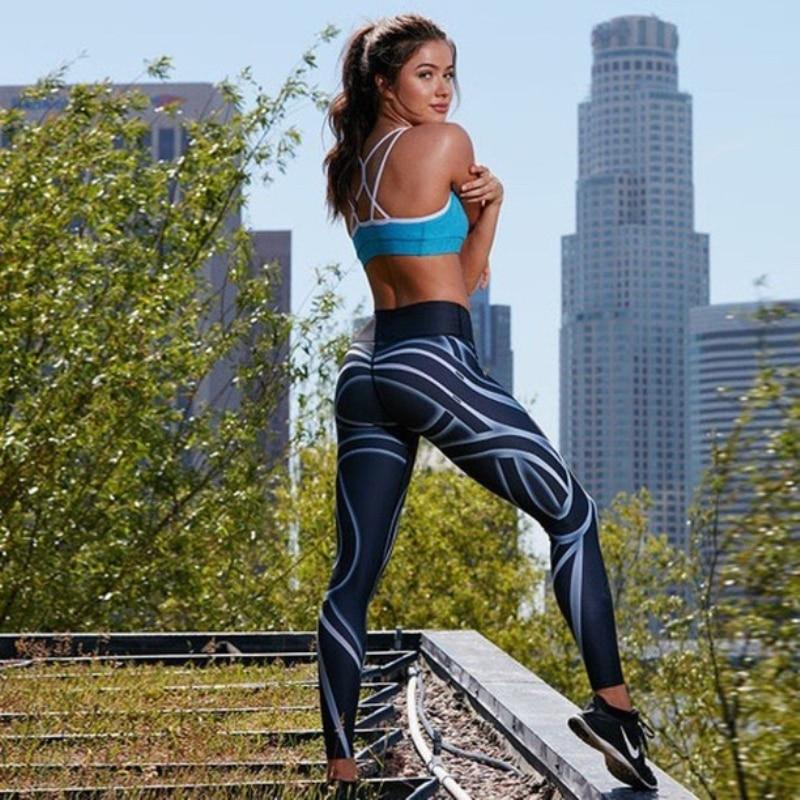 Champion In-line 3D Print Leggings