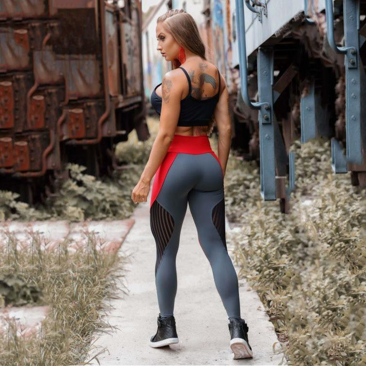 Prime Fit Mesh Push Up Workout Push Up Leggings