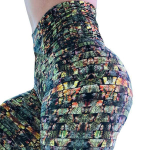 Hyper Rock 3D Print Leggings