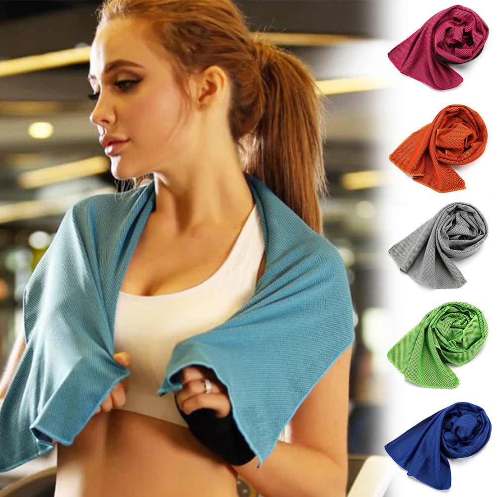 Microfiber Rapid Cooling Fitness Quick-Drying Sport Towel