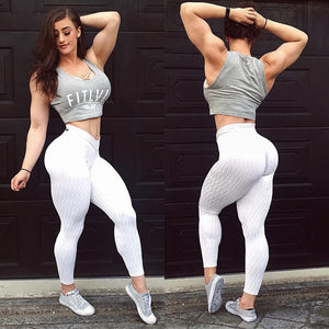 Mega Scrunch Booty Anti-cellulite Textured Push Up Leggings
