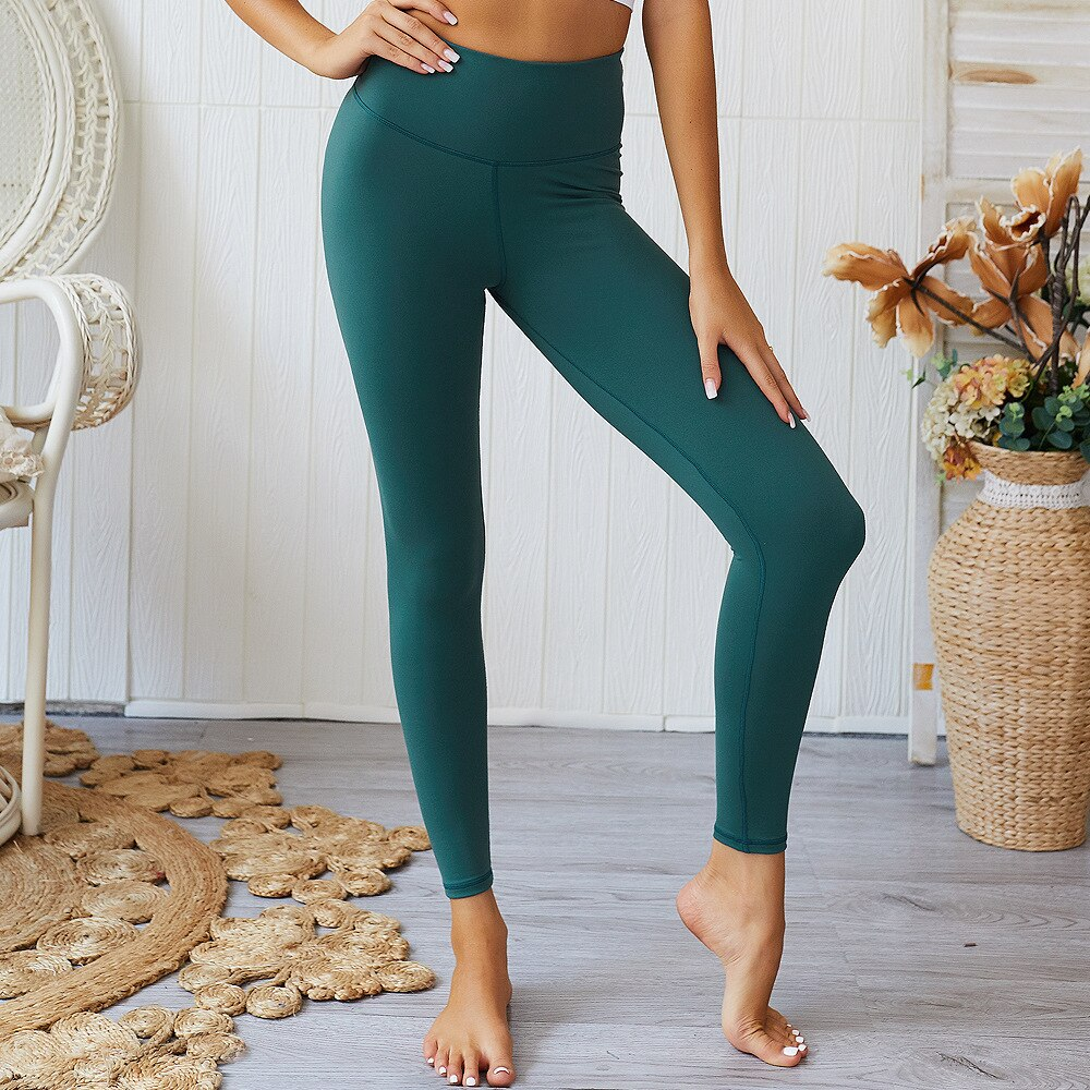 High Waist Bubble Butt Bum Scrunch Push Up Workout Leggings