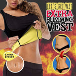 Plus Size Weight Loss Let's Get Wet Extra Slimming Sweat Vest Shaper