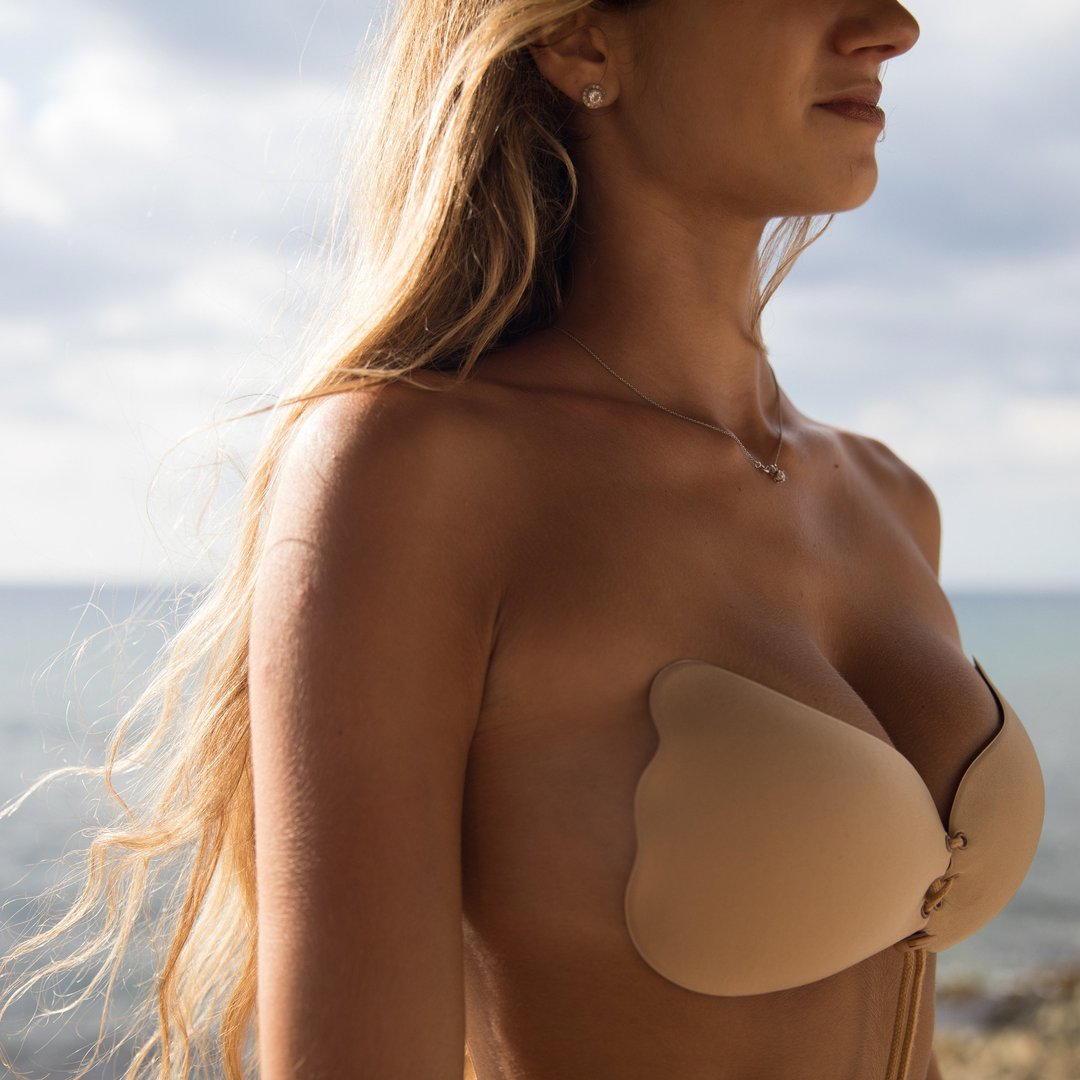 Strapless Push Up Invisible Backless Bra