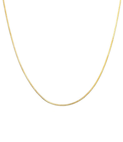 14k diamond cut snake chain