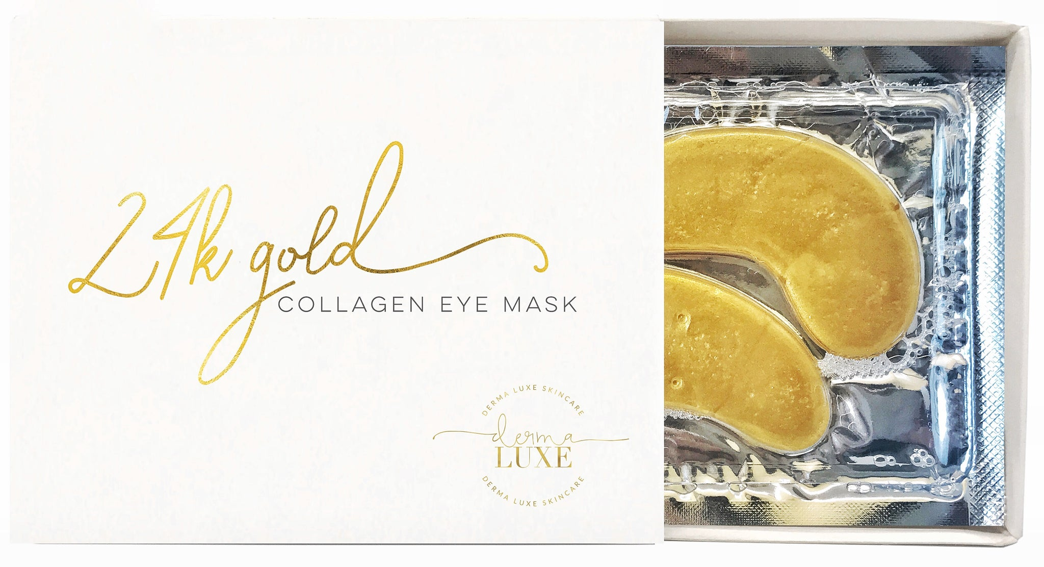 24k Gold Collagen Eye Mask 5pk