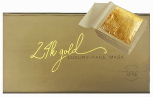 24k Gold Luxury Face Mask