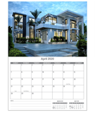 Wall Calendars - Luxury Homes - SOLD OUT