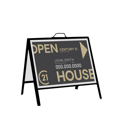 C21 Open House Signs - Inserts - 002