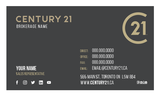 C21 Business Card Template - C21-002