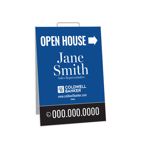 CB Open House Signs - Sandwich Board - 001