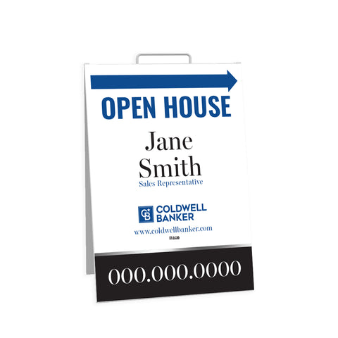 CB Open House Signs - Sandwich Board - 003