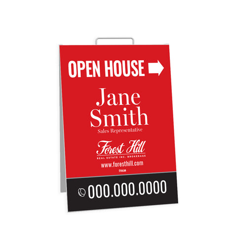 Forest Hill Open House Signs - Sandwich Board - 002