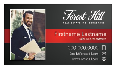 Forest Hill Business Cards - 001