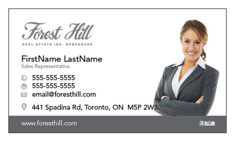Forest Hill Business Cards - 003